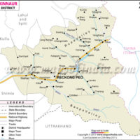 kinnaur-district-map
