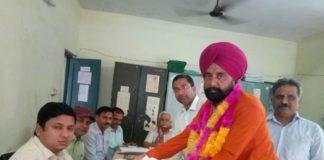 कांग्रेस की परंपरागत सीट पर भाजपा प्रत्याशी परमजीत सिंह जीते