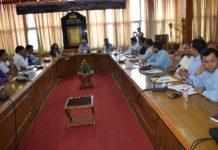 मानसून की तैयारियों के लिए बैठक आयोजित-Panchayat Times