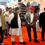 राजस्थान मंडप बना आकर्षक का केन्द्र
