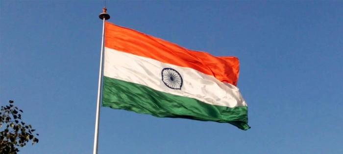 जिला किन्नौर प्रशासन के सामने राष्ट्रीय ध्वज का अपमान