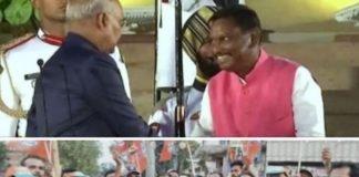 खूंटी के सांसद अर्जुन मुंडा को केंद्रीय मंत्री बनाये जाने पर... - Panchayat Times
