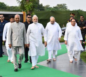 पूर्व प्रधानमंत्री अटल बिहारी की पुण्यतिथि पर पीएम सहित कई नेताओं ने दी श्रद्धांजलि-Panchayat Times