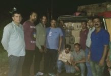 पांवटा साहिब में पुलिस ने एक गाड़ी से बरामद की 41 शराब की पेटियां-Panchayat Times