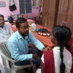 पोषण अभियान के तहत चरही बालिका विधालय में एनीमिया की जांच-Panchayat Times