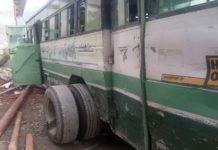चंबा में चलती-चलती बस के निकल गए टायर-Panchayat Times