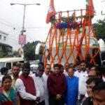 भाजपा ने की जन आशीर्वाद यात्रा की शुरुआत-Panchayat Times