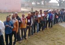 17 विधानसभा सीटों पर 11 बजे तक कुल 29.82% फीसदी हुआ मतदाता -PanchayatTimes