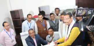 राज्यसभा चुनाव : भाजपा से दीपक प्रकाश ने भरा नामांकन-Panchayat Times