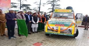 जय राम ठाकुर ने वन अग्नि रोकथाम और नियंत्रण जागरूकता वाहनों को दिखाई हरी झंडी-Panchayat Times